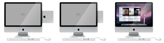 A iMac-like docking station