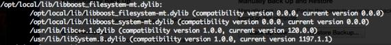 OS X 10.9 Mac Port libc++